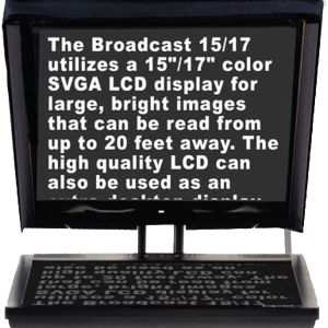 Teleprompter by Prompter People